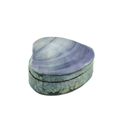 Shell box - small, purple