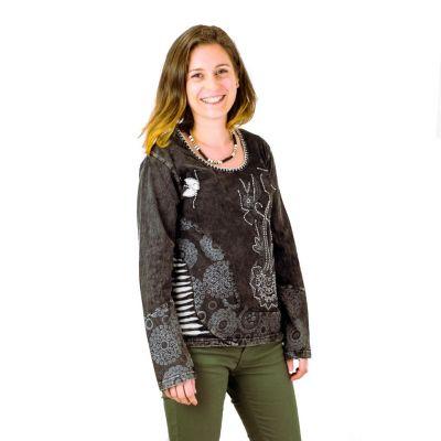 Top / blouse Ketana Hitam