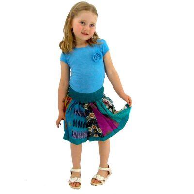 Skirt Karishma Turquoise
