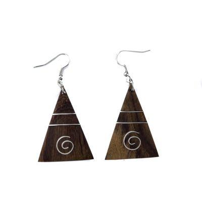 Earrings Pyramid