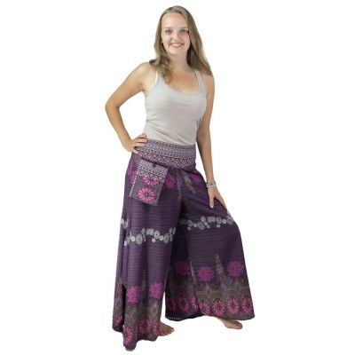Trousers Benyapa Purple