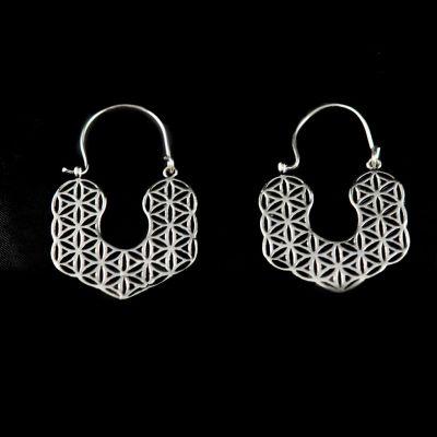 German silver earrings Hitiksha