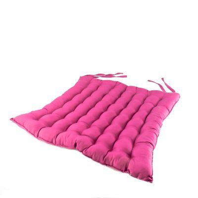 Pink seat cushion