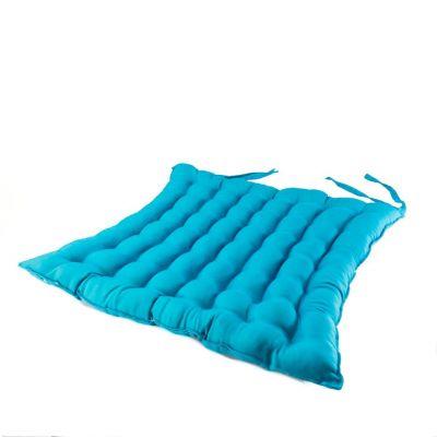 Turquoise seat cushion