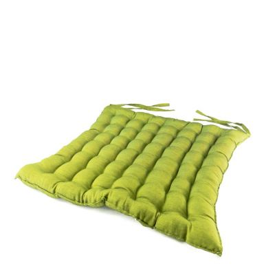 Green seat cushion