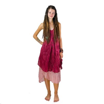 Dress Nittaya Burgundy