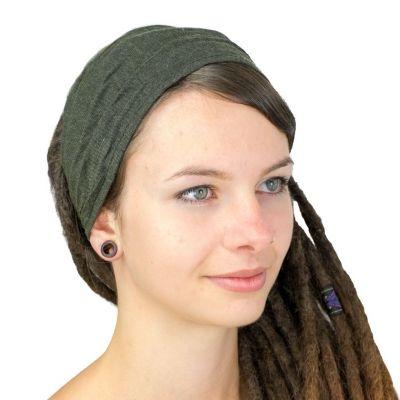 Khaki headband
