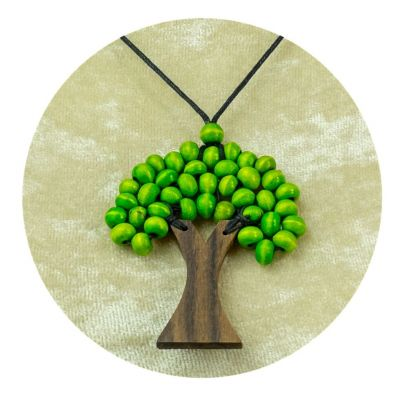 Pendant Tree - light green