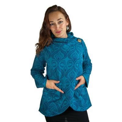 Jacket Kalavati Blue