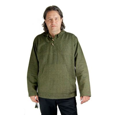 Kurta Ganet Garis - men's shirt with long sleeves