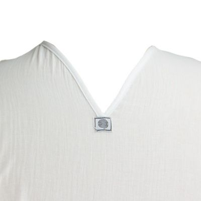 Kurta Abiral White - men's shirt with long sleeves Thailand