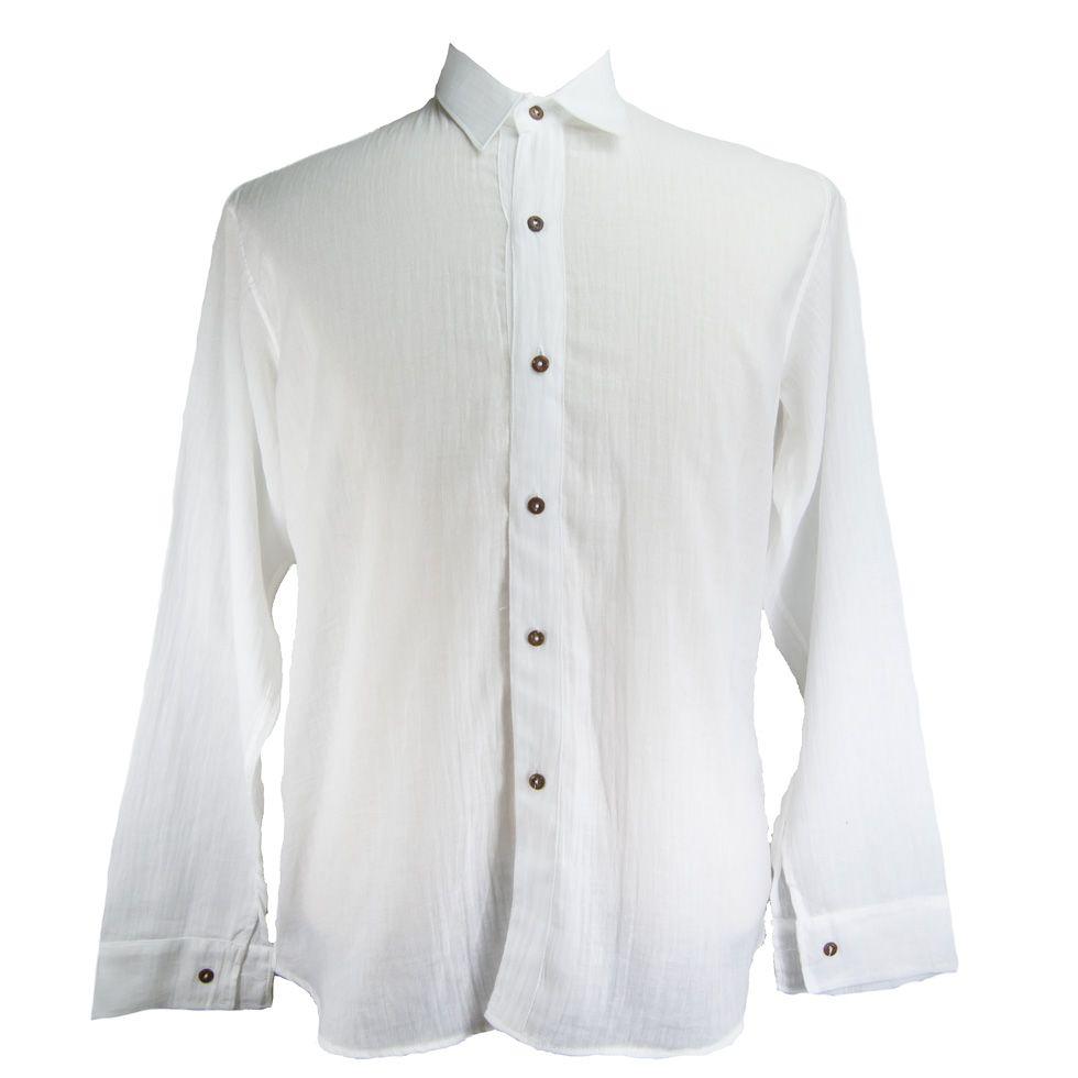 Men's shirt with long sleeves Lamon Tombol