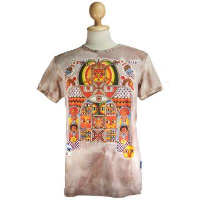 Men's t-shirt Sure Aztec Day&Night Brown | M, L, XL, XXL
