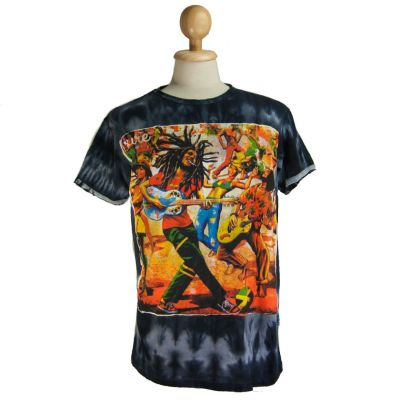 T-shirt Bob Marley Black