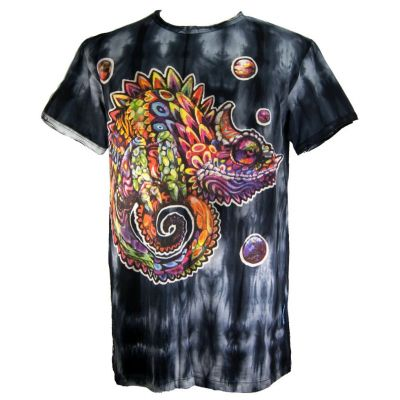 T-shirt Chameleon Black