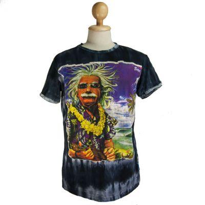 Men's t-shirt Sure Einstein on Holiday Black | M, L, XL, XXL