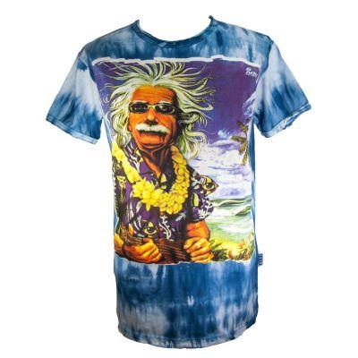 Men's t-shirt Sure Einstein on Holiday Blue | M, L, XL, XXL