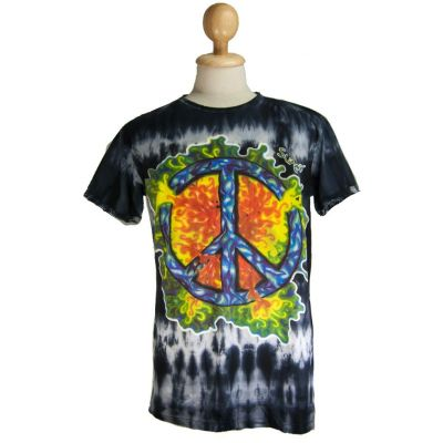 T-shirt Peace Black