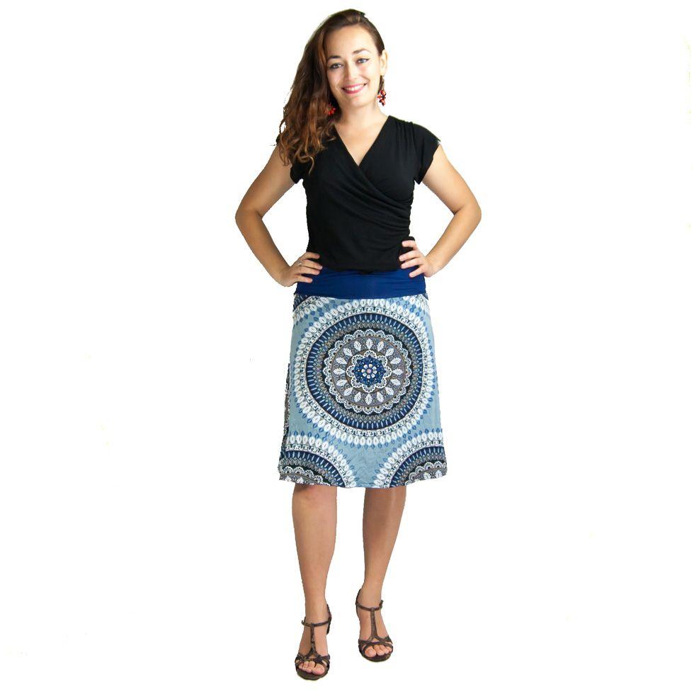 A-line skirt Panitera Dakini