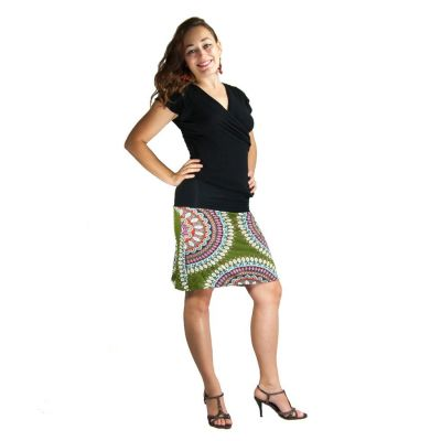 Middle-sized skirt Ibu Fabienne
