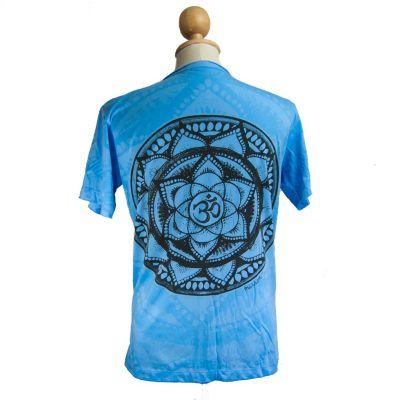Mirror t-shirt Holy Lotus Turquoise