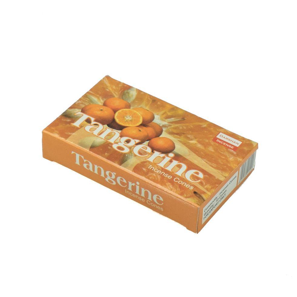 Incense cones Darshan Tangerine
