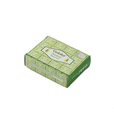 Incense cones Goloka Patchouli