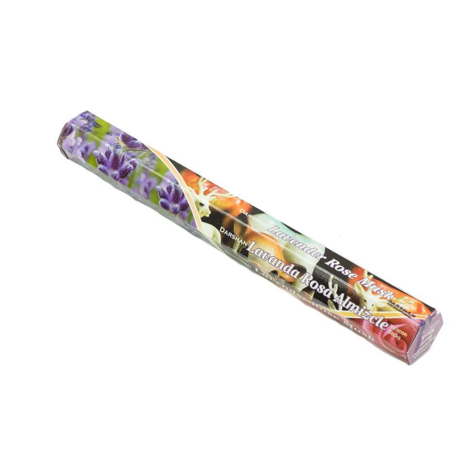 Incense Darshan Lavender Rose Musk