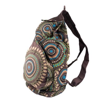 Backpack Mandala Brown
