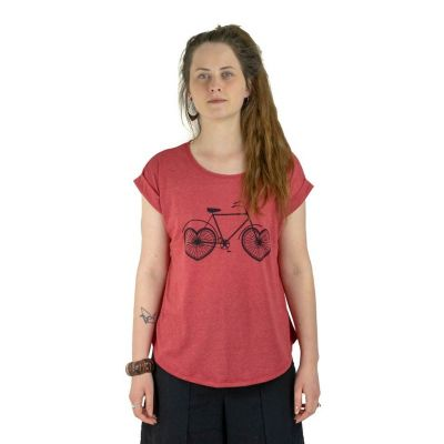 T-shirt Darika Lovely Bike