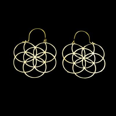 Earrings Flower of Life