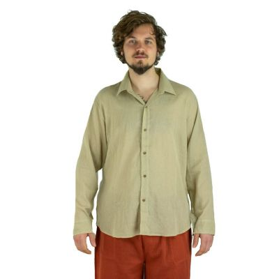 Shirt Tombol Light Brown