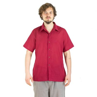 Shirt Jujur Burgundy
