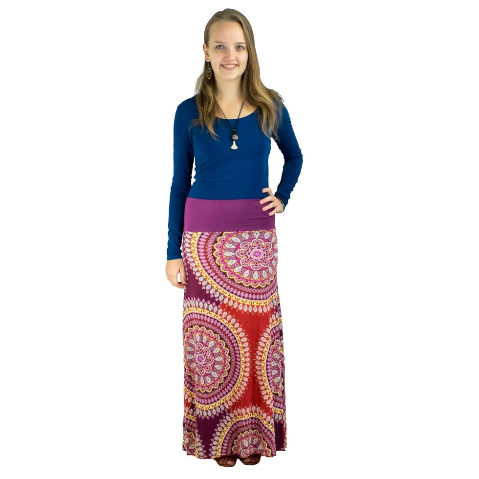 Long skirt Panjang Wei