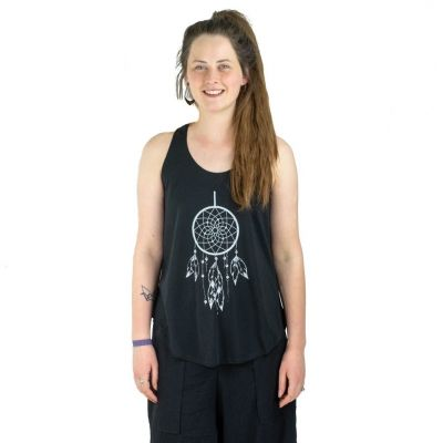 Tank top Darika Dream Catcher Black