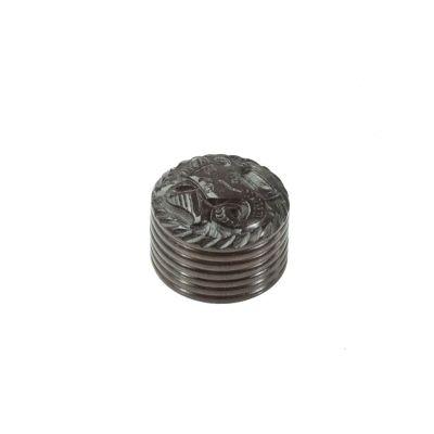 Carved grinder Ganesh - small India