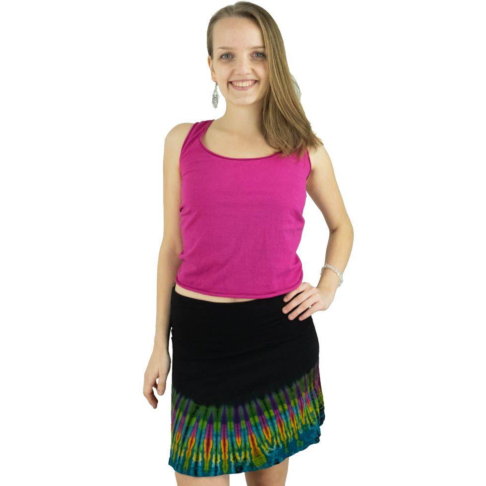 Tie-dye skirt Gamon Mengatur