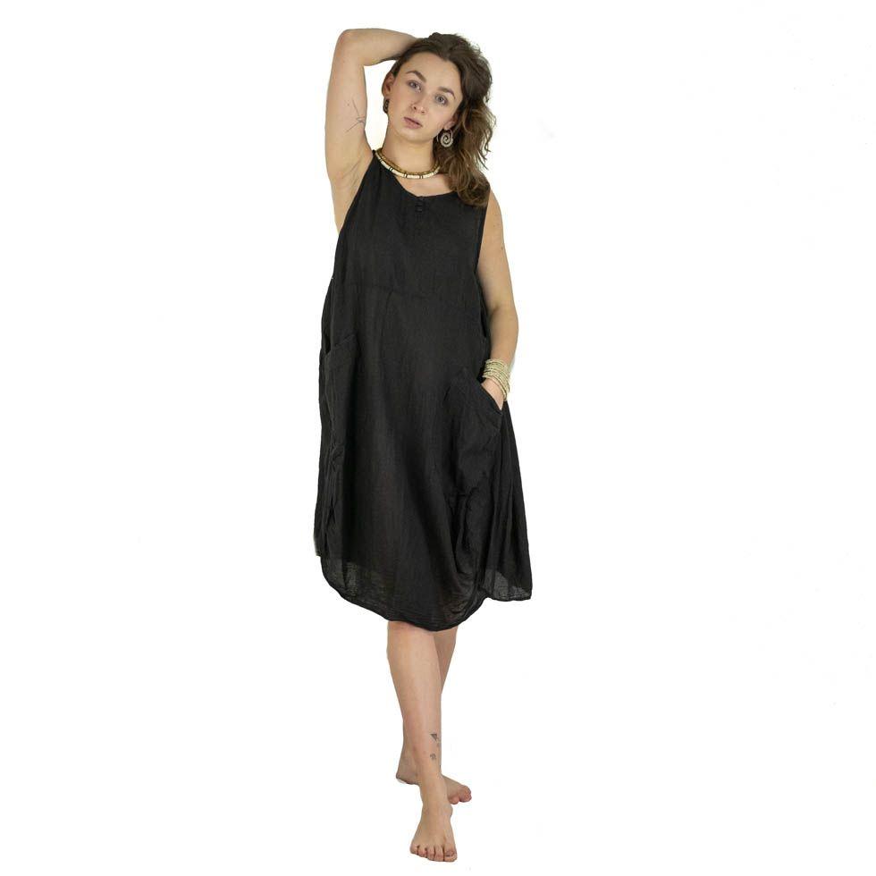 Summer dress Kwanjai Black