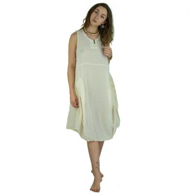 Dress Kwanjai Cream
