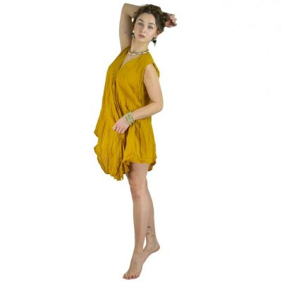 Minidress Prisana Mustard