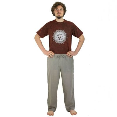 Trousers Tanawat Medium Brown