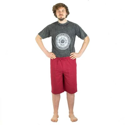 Shorts Tanawat Burgundy