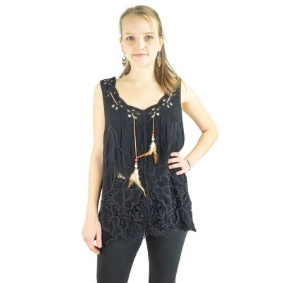 Embroidered top Dao Zulmat | UNISIZE
