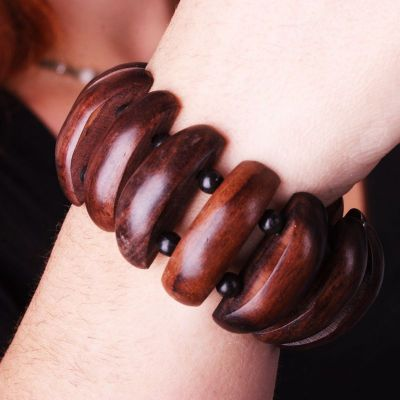 Wooden bracelet Hutan Kecil