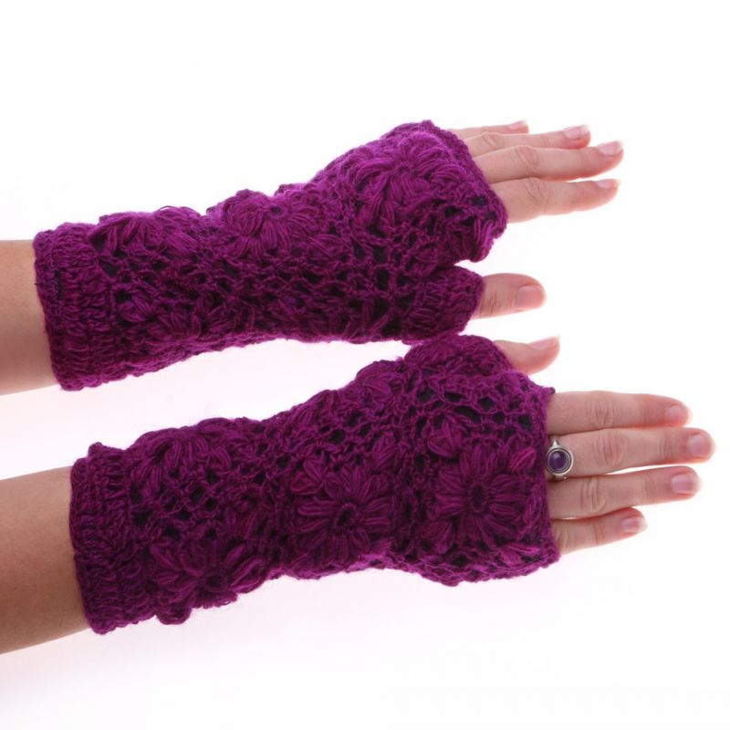 Hand warmers Bardia Purple