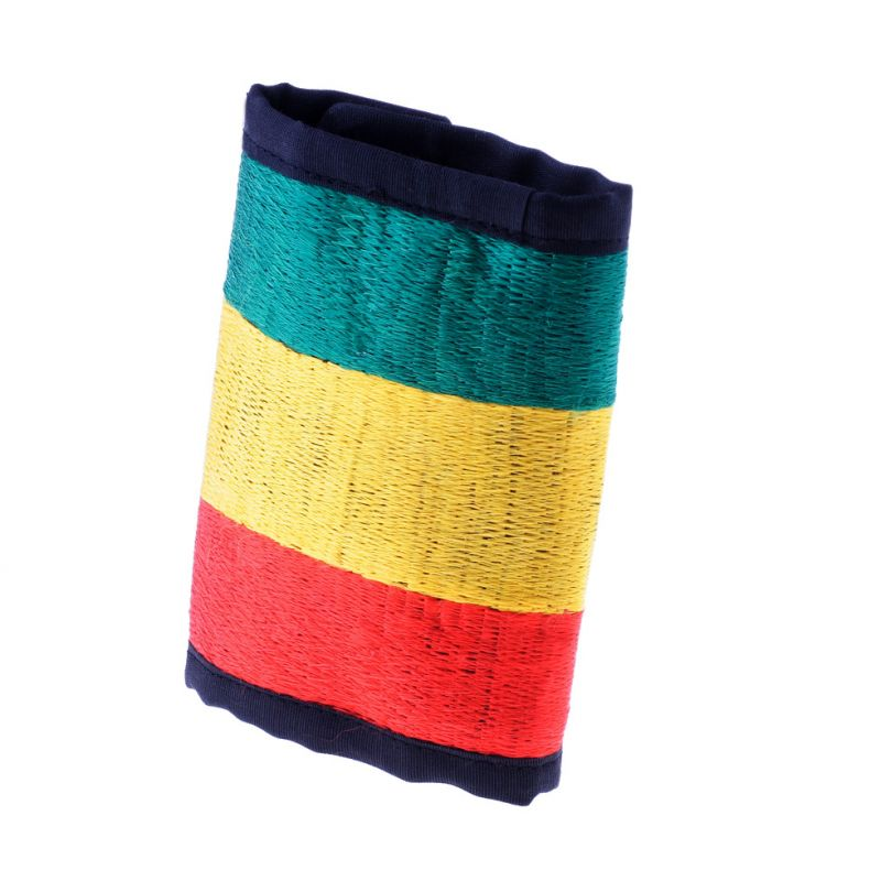 Embroidered wallet Rastafari