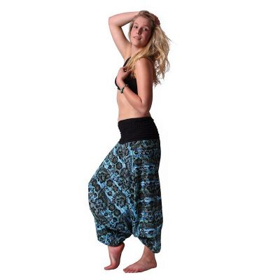 Trousers Subas Turquoise
