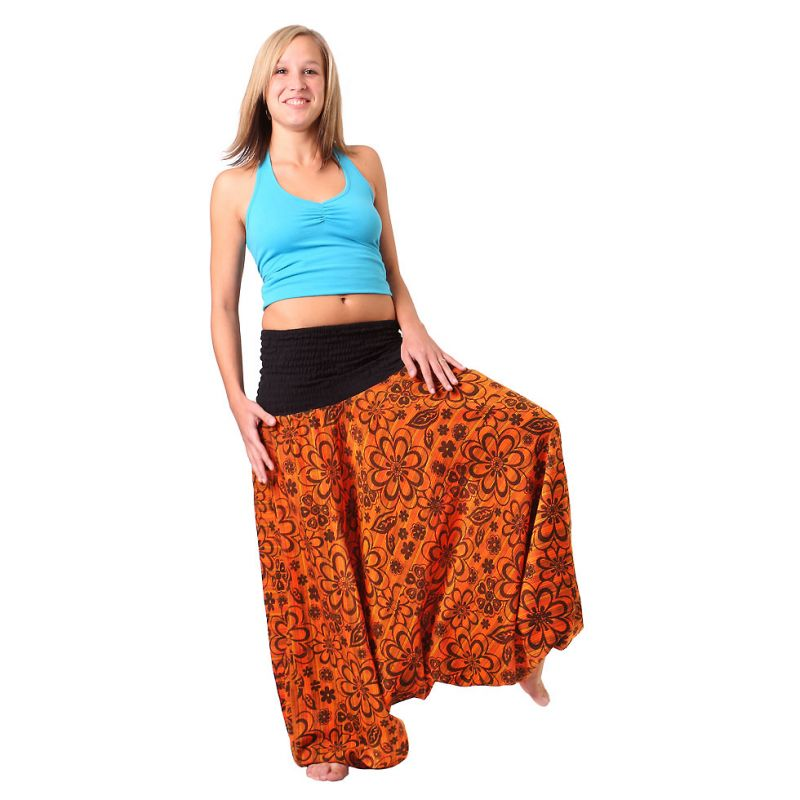 Trousers Bunga Jingga