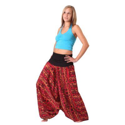 Trousers Bunga Merun