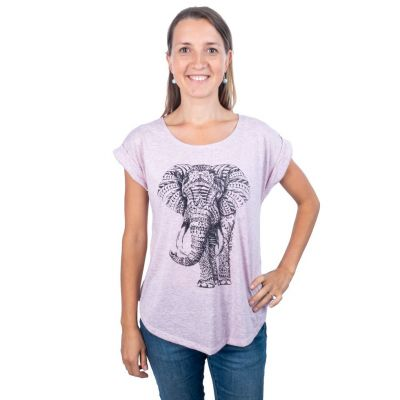 T-shirt Darika Elephant Pink